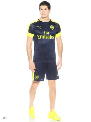 Футболка игровая AFC Third Replica Shirt Puma. Цвет: синий