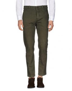 Повседневные брюки NICOLAS & MARK. Цвет: зеленый-милитари