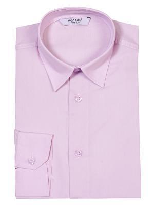 Рубашка M-BABY. Цвет: бледно-розовый