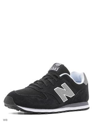 Кроссовки NEW BALANCE 373. Цвет: черный