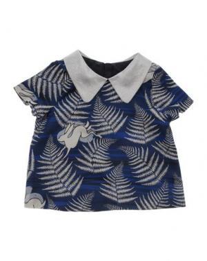 Блузка HUCKLEBONES. Цвет: синий