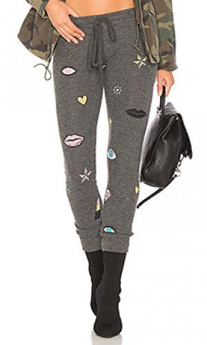 Спортивные брюки kizzy Lauren Moshi. Цвет: черный