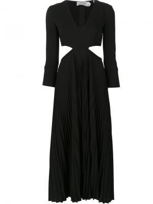 Платье Josefa A.L.C.. Цвет: чёрный