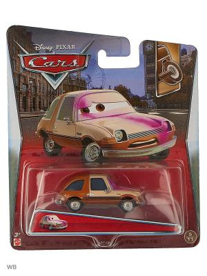 Машина Тачки 2 Mattel. Цвет: светло-коричневый, молочный