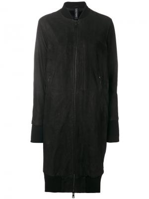 Куртка-бомбер Giorgio Brato. Цвет: чёрный