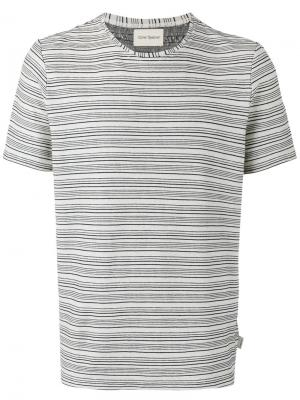 Conduit striped T-shirt Oliver Spencer. Цвет: телесный