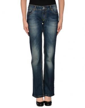 Джинсовые брюки FANNY COUTURE. Цвет: синий