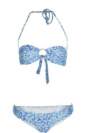 Купальник Melissa Odabash. Цвет: голубой