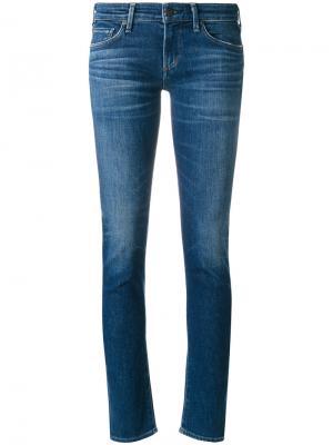 Faded skinny jeans Citizens Of Humanity. Цвет: синий