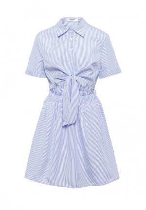 Платье Sweewe. Цвет: голубой