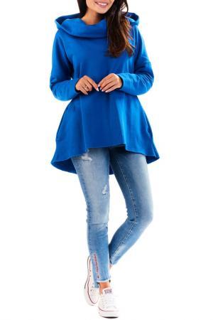 Hoodie Awama. Цвет: blue