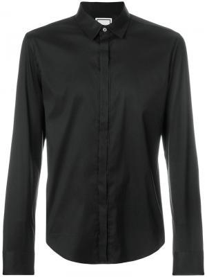 Классическая рубашка Wooyoungmi. Цвет: чёрный