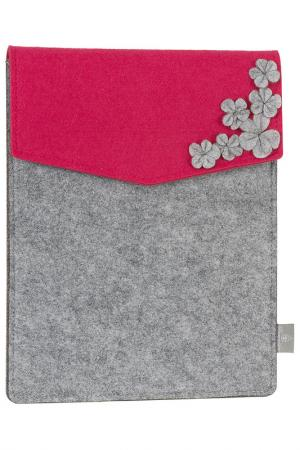 Чехол для Ipad/Tablet PC Burgmeister. Цвет: pink and gray