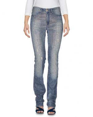 Джинсовые брюки GAI MATTIOLO JEANS. Цвет: синий