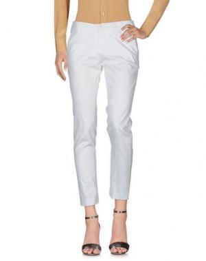 Повседневные брюки LA ROSE. Цвет: белый