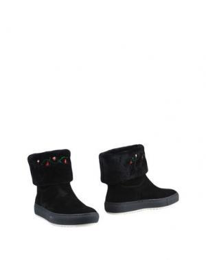 Полусапоги и высокие ботинки JOYKS. Цвет: черный