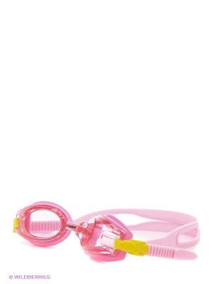 Очки плавательные детские DR5 Larsen. Цвет: розовый
