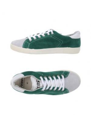 Низкие кеды и кроссовки SPRINGA. Цвет: изумрудно-зеленый
