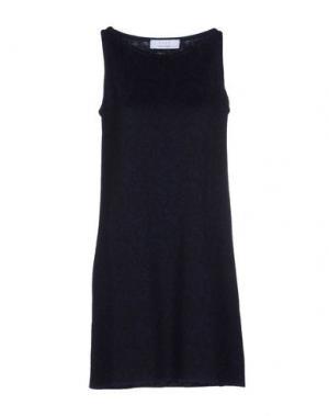 Короткое платье KAOS. Цвет: темно-синий