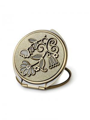 Зеркало косметическое  Полевые цветы JARDIN D'ETE. Цвет: бронзовый