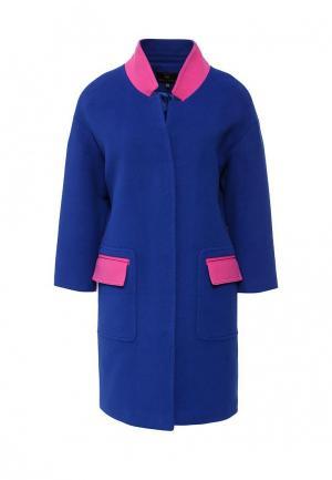 Пальто Grand Style. Цвет: синий