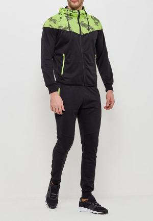 Костюм спортивный Fashion Sport. Цвет: черный