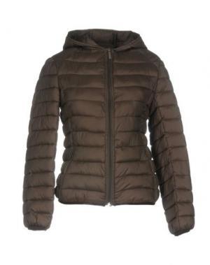 Куртка DUCK FARM. Цвет: темно-коричневый
