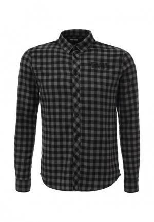 Рубашка Fresh Brand. Цвет: черно-белый