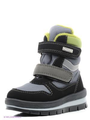 Ботинки Jog Dog. Цвет: серый, черный