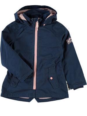 Куртка NAME IT. Цвет: темно-синий