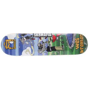 Дека для скейтборда  Kremer Sk8rats Small Multi 31.75 x 7.75 (19.7 см) Sk8mafia. Цвет: мультиколор