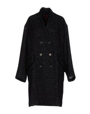 Пальто HIGH. Цвет: черный