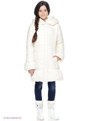 Куртка MANAI. Цвет: молочный
