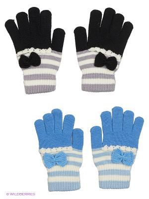 Перчатки FOMAS. Цвет: черный, серый, голубой, светло-голубой