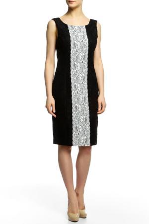 Платье Flavio Castellani. Цвет: черный, белый