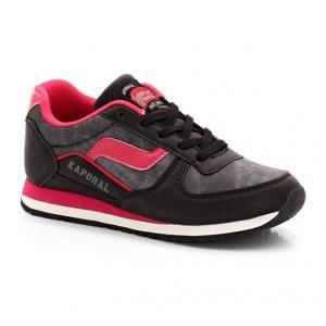 Кроссовки KAPORAL Joggy 5. Цвет: черный + розовый