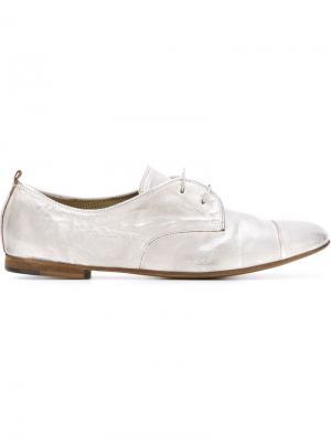 Туфли со шнуровкой Laboratorigarbo. Цвет: серый