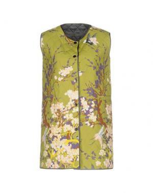 Куртка LAURA URBINATI. Цвет: светло-зеленый