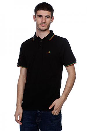 Поло  Specials Polo Rasta Enjoi. Цвет: черный