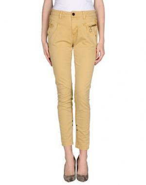 Повседневные брюки MOS MOSH. Цвет: бежевый