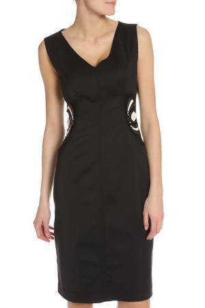 Платье CLIPS MORE. Цвет: черный