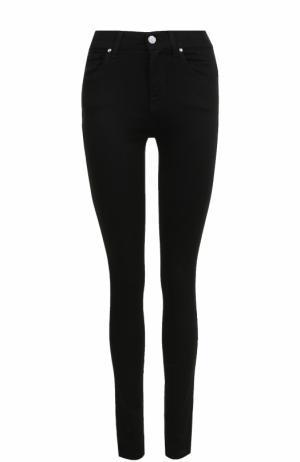 Однотонные джинсы-скинни с завышенной талией Jacob Cohen. Цвет: черный