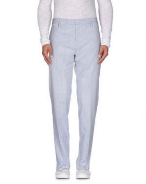 Повседневные брюки MARC JACOBS. Цвет: синий