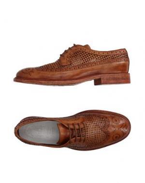 Обувь на шнурках CORVARI. Цвет: желто-коричневый