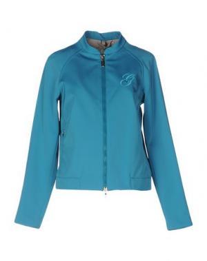Куртка GEOSPIRIT. Цвет: бирюзовый