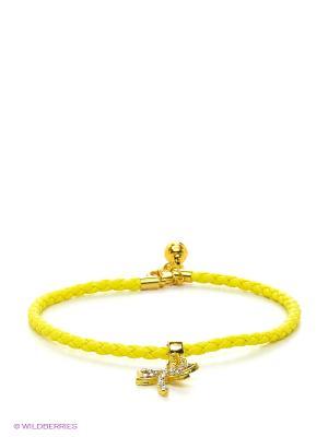 Ошейник Doggy Style. Цвет: желтый