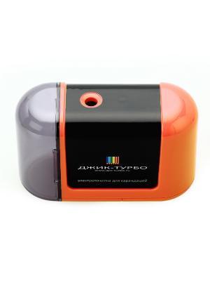 Точилка для карандашей на батарейках Джик-Турбо. Цвет: оранжевый