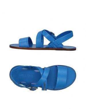 Сандалии DSQUARED2. Цвет: синий