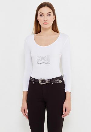 Лонгслив Cavalli Class. Цвет: белый