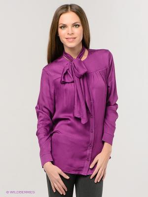 Блузка SISTE'S. Цвет: фиолетовый